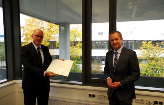 Ruhr-Universität Bochum awards Honorary Professorship to Dr.-Ing. Hermann Monstadt